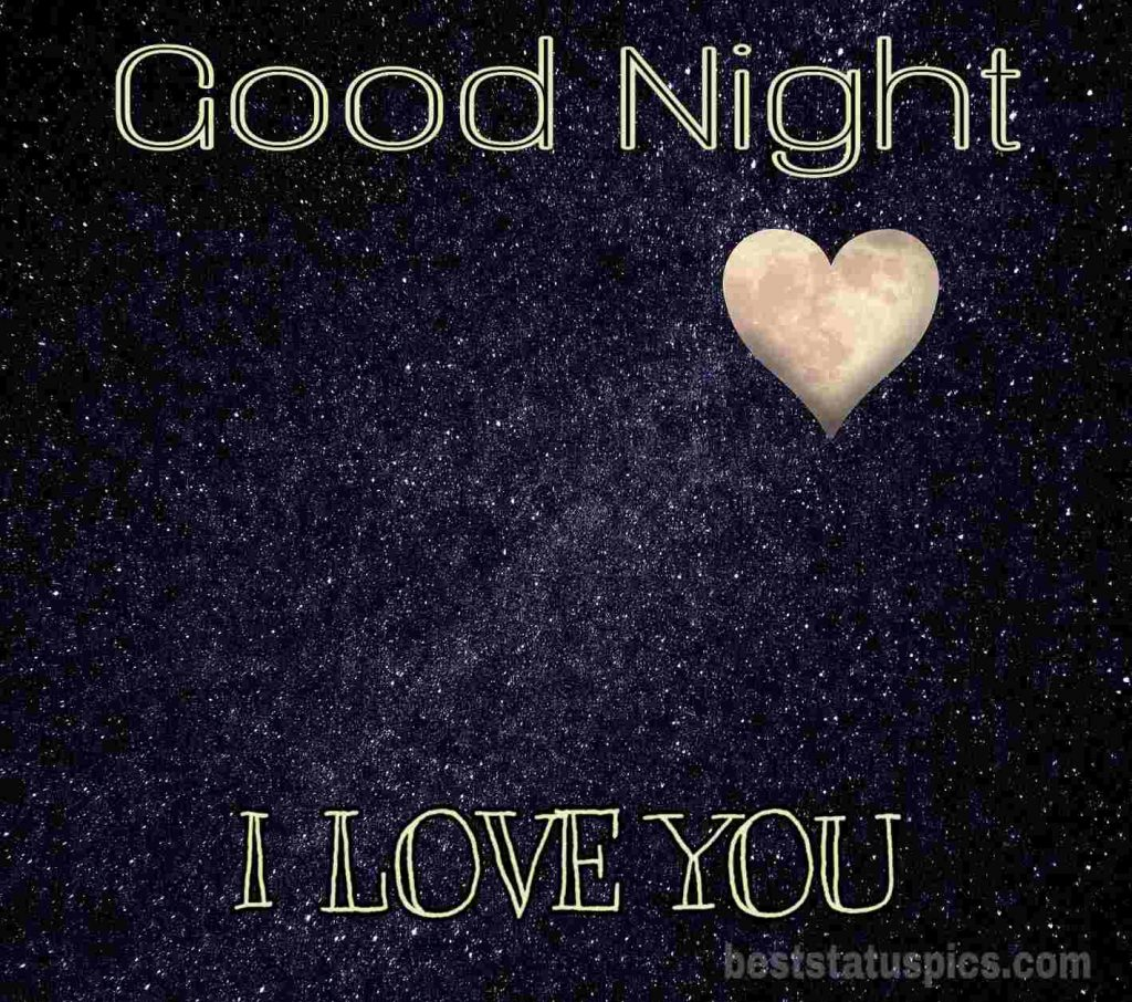 Good night images with love you quotes