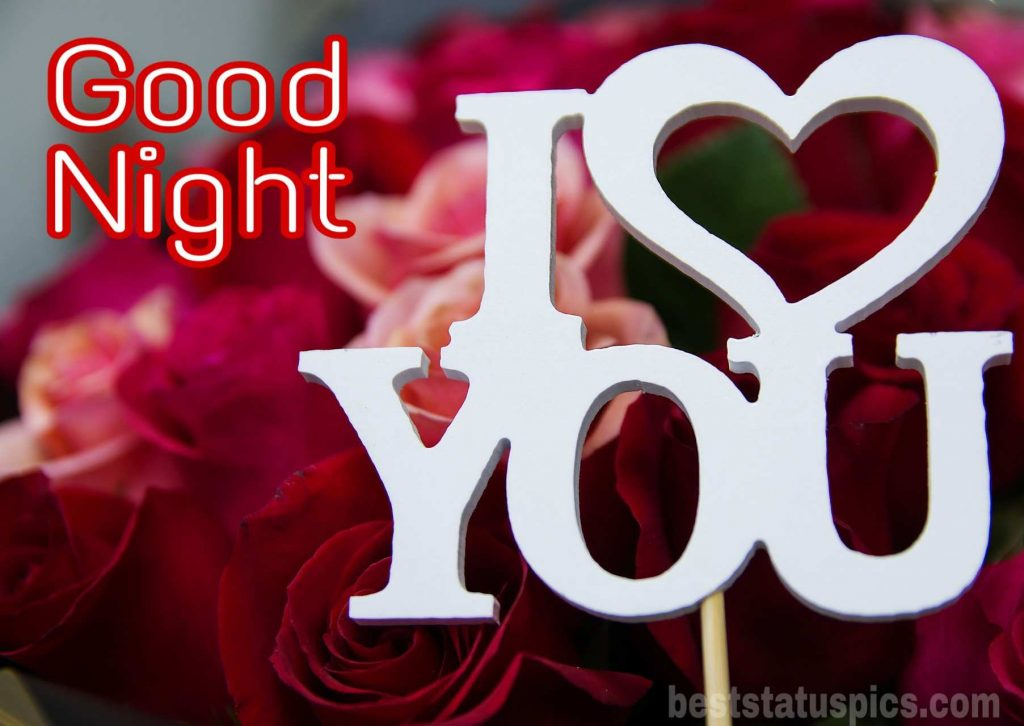 Good night I love you picture
