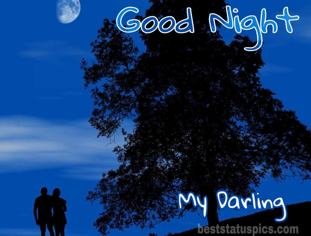 Good night couple images full hd
