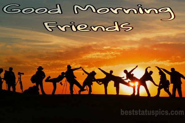 Good morning friends images featured