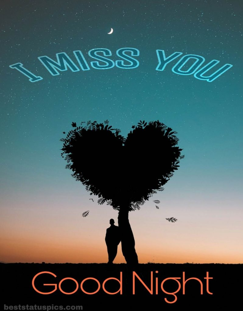 Good night i miss you quotes with love