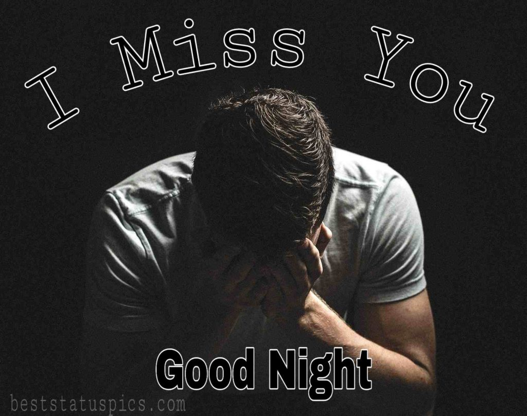 Good night miss u love images for girlfriend