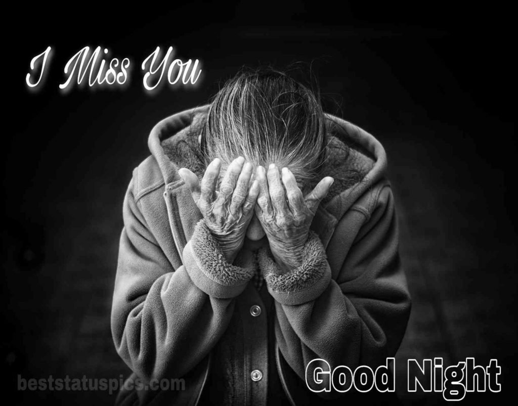 Good night and i miss you images for couple