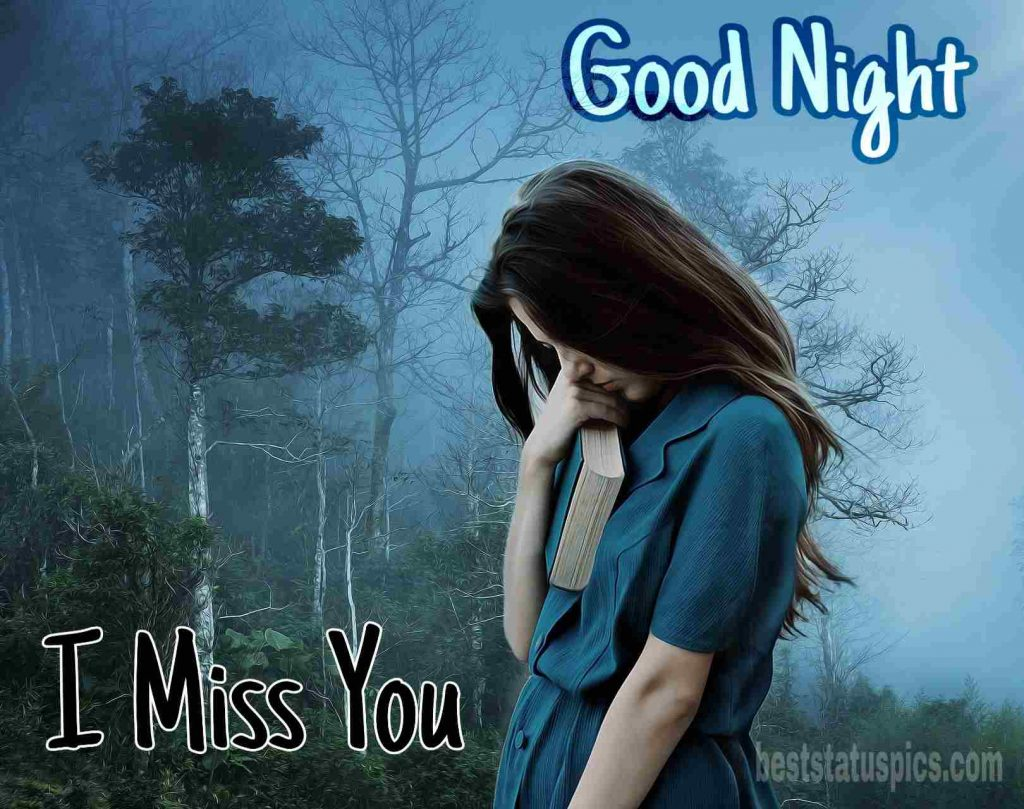 Good night miss u for boyfriend
