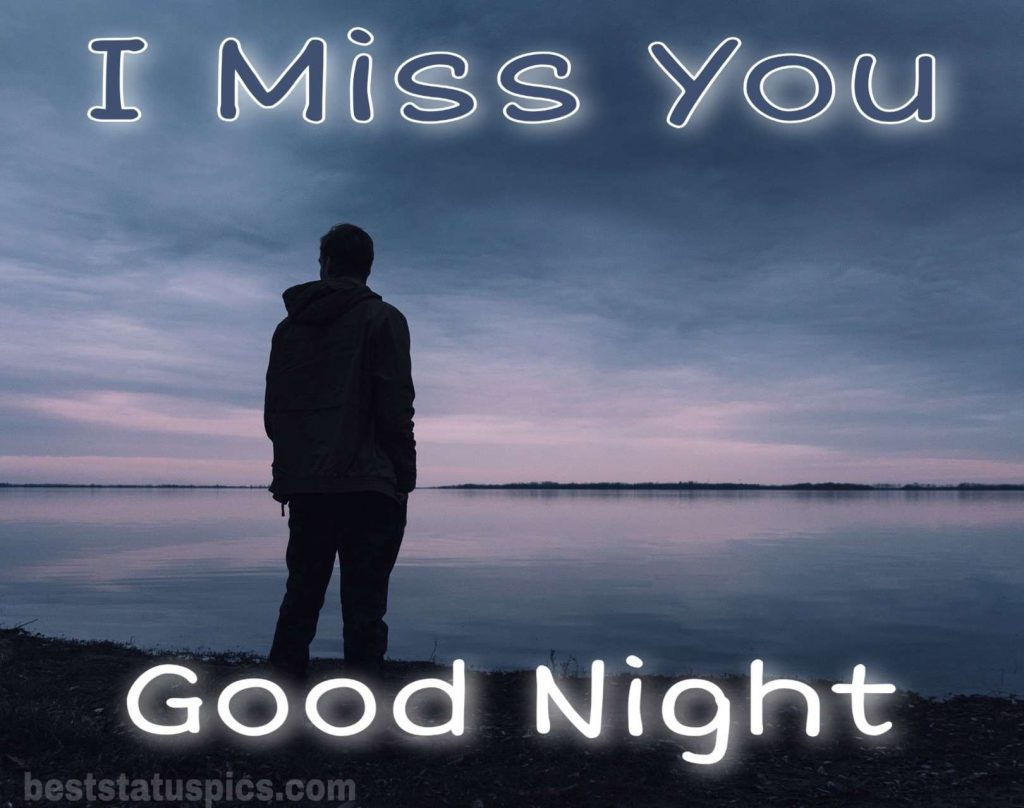Good night with miss you images for girlfriend