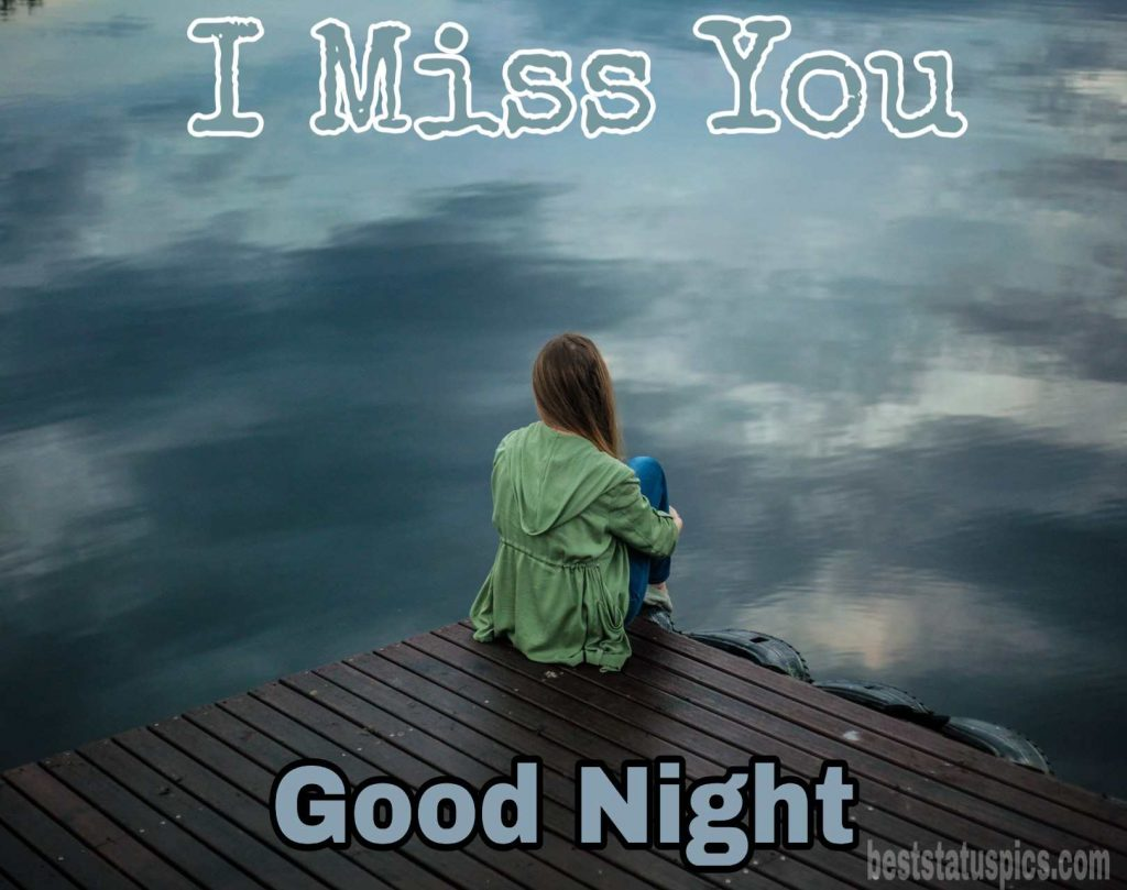 Good night i miss you love image hd