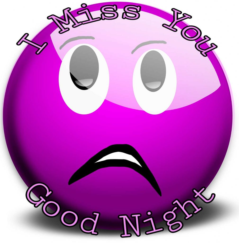 Good night miss you status for gf