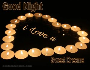 Good night love you images HD