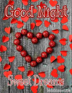 Romantic good night images with love HD