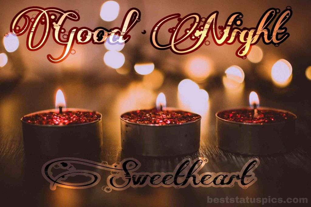 Romantic good night love images HD