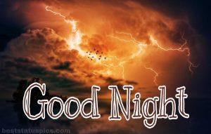 Beautiful good night nature images