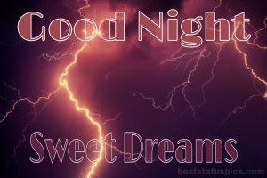 Good night sweet dreams nature images HD