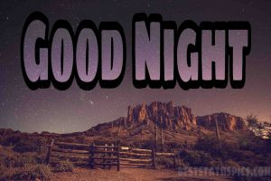 Good night images in nature HD