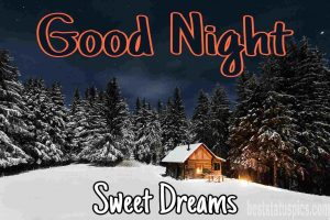 Cute good night nature images for whatsapp
