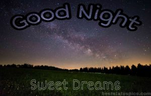 Good night nature images with quotes