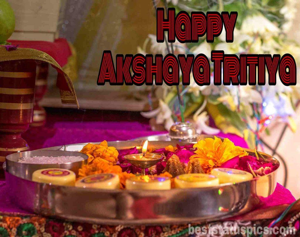 Happy akshaya tritiya 2020 wishes image
