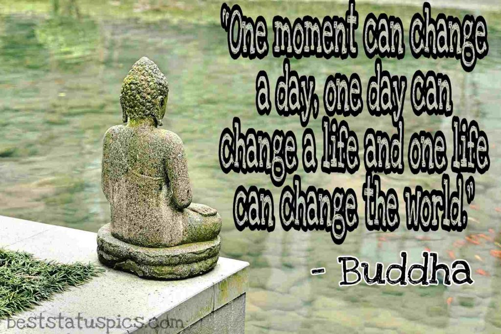 life quotes by buddha image