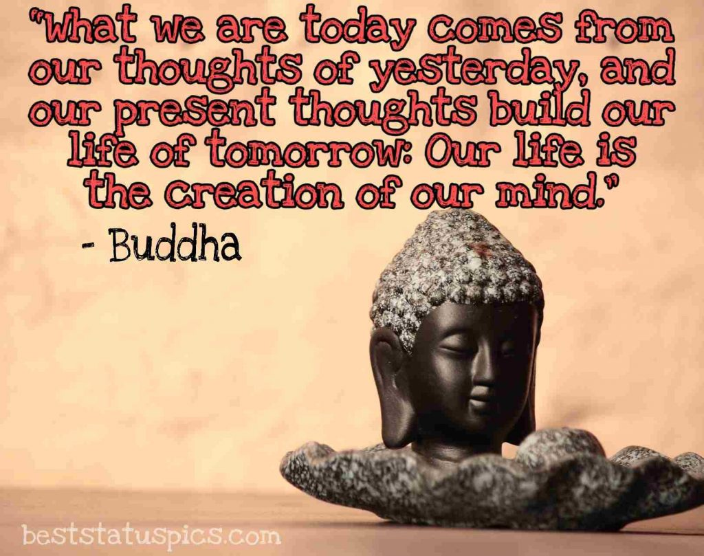 buddha quotes happy life image