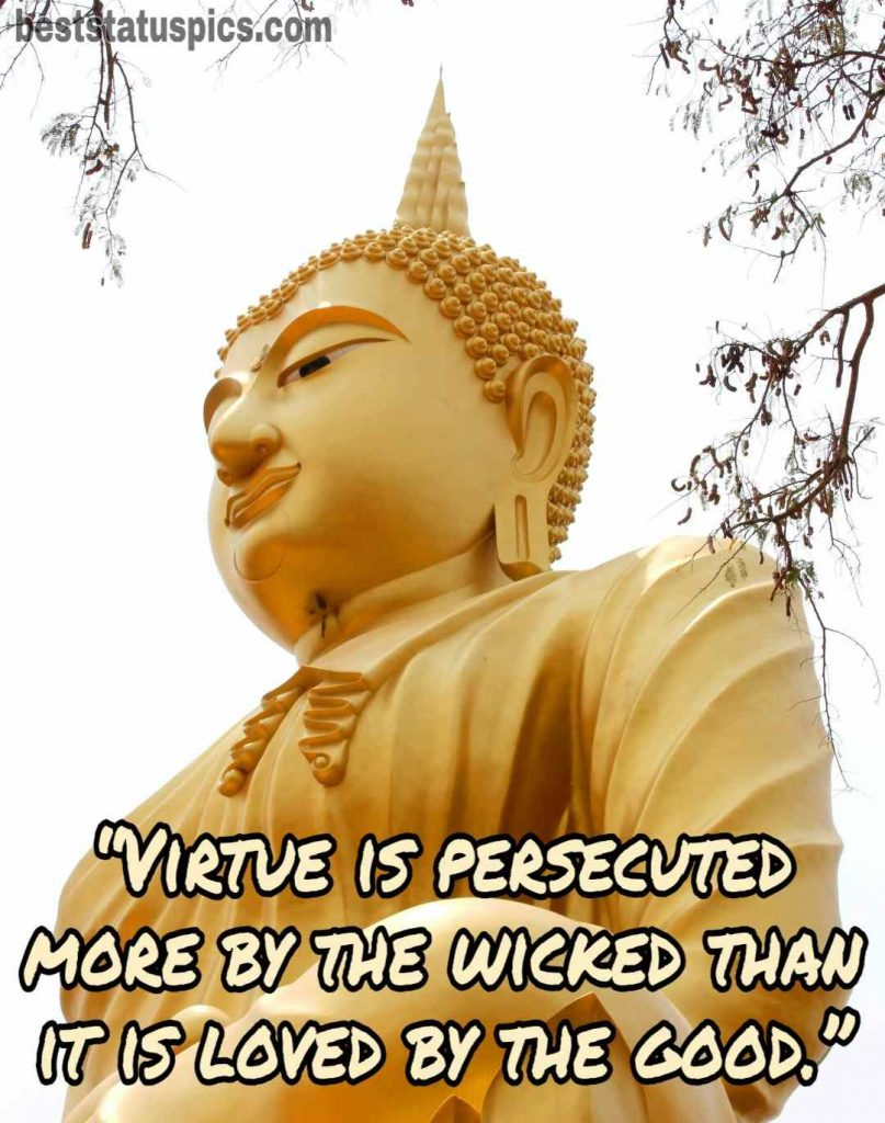 Buddha quotes for love image