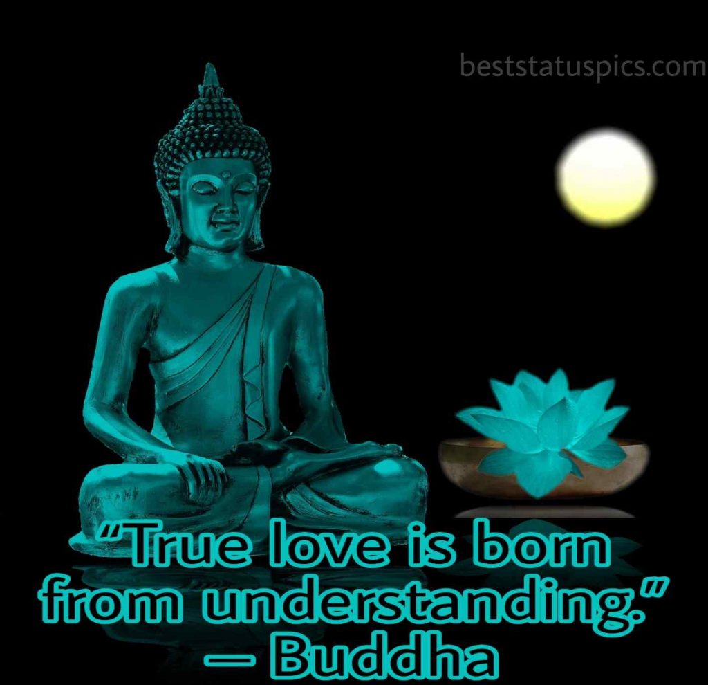 Buddhist quotes about love image