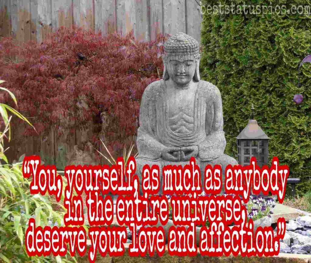 Buddha quotes on love image HD