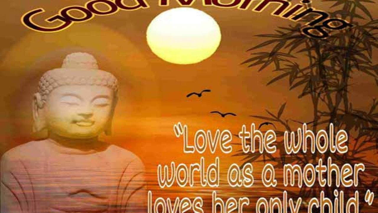 Buddha Good Morning Quotes With Images Best Status Pics