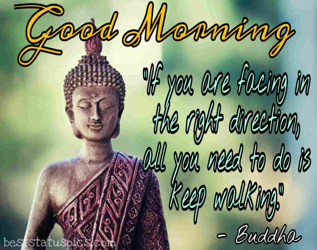 buddha quotes and good morning images