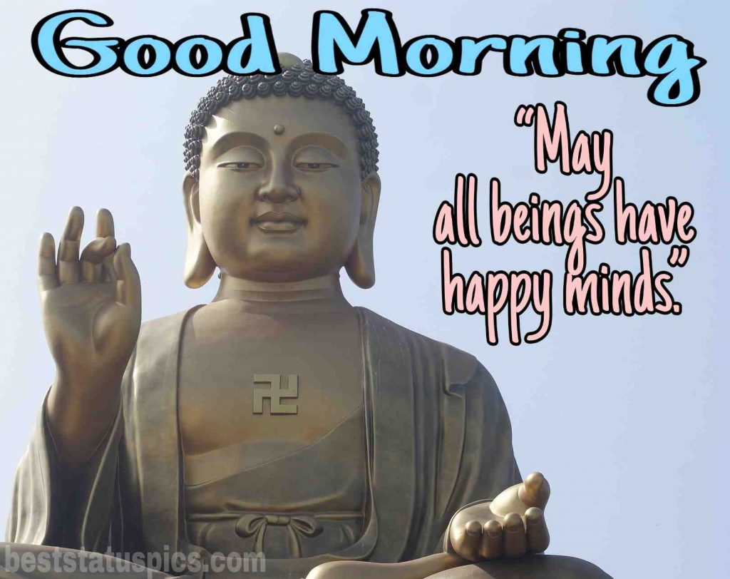good morning quotes lord buddha image