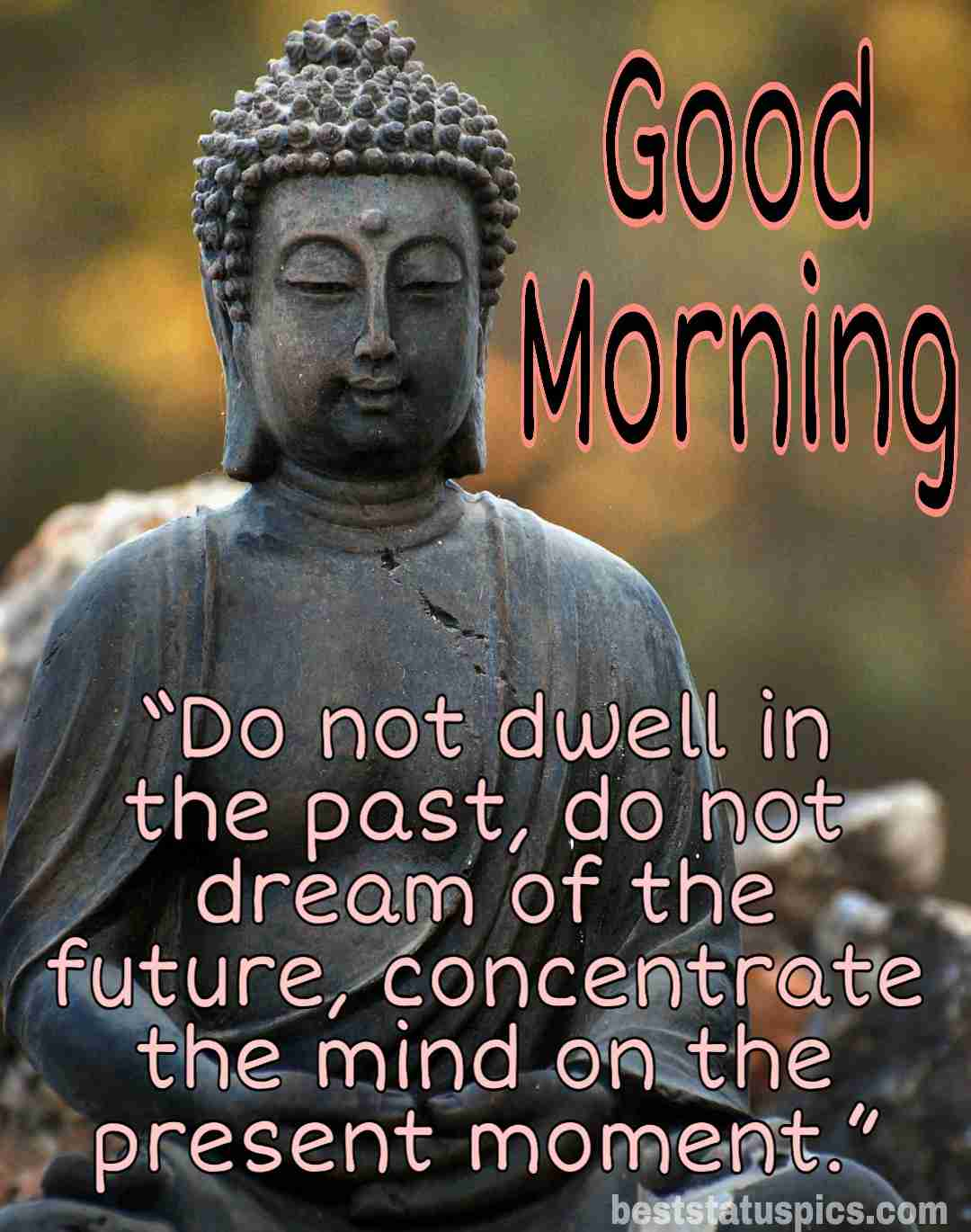 Buddha Good Morning Quotes With Images | Best Status Pics