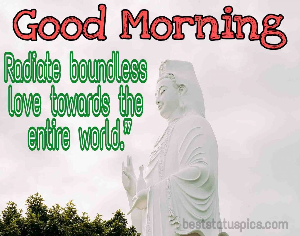 buddha quotes for morning image