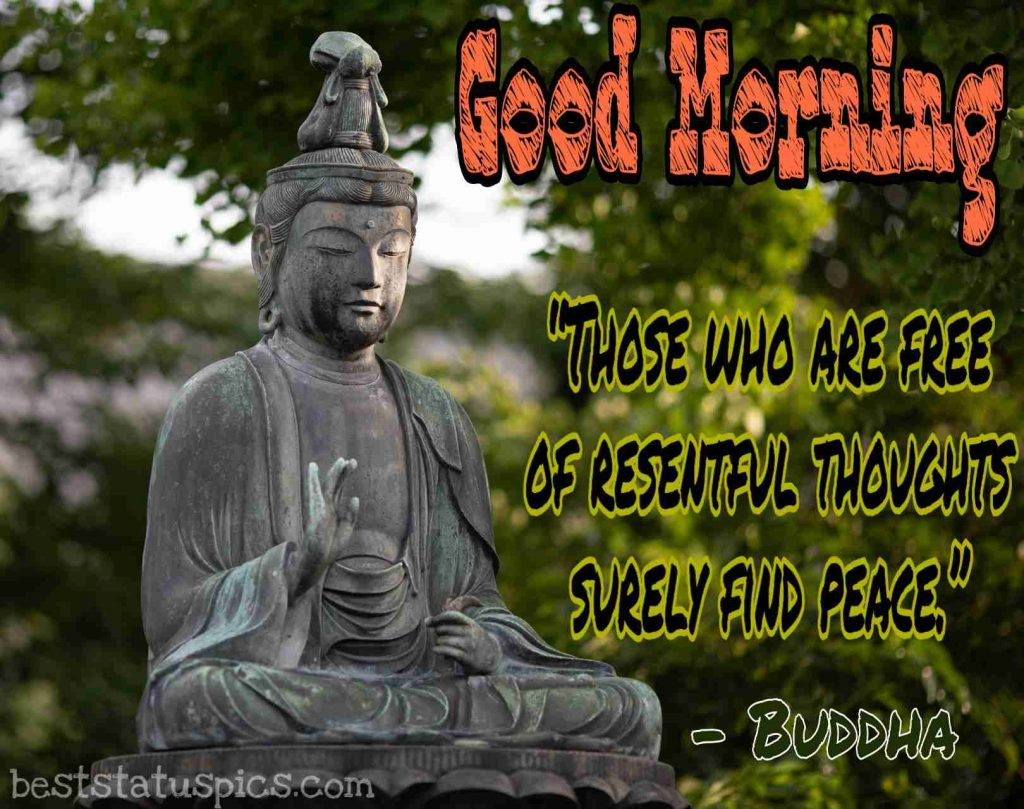 buddha quotes for good morning image