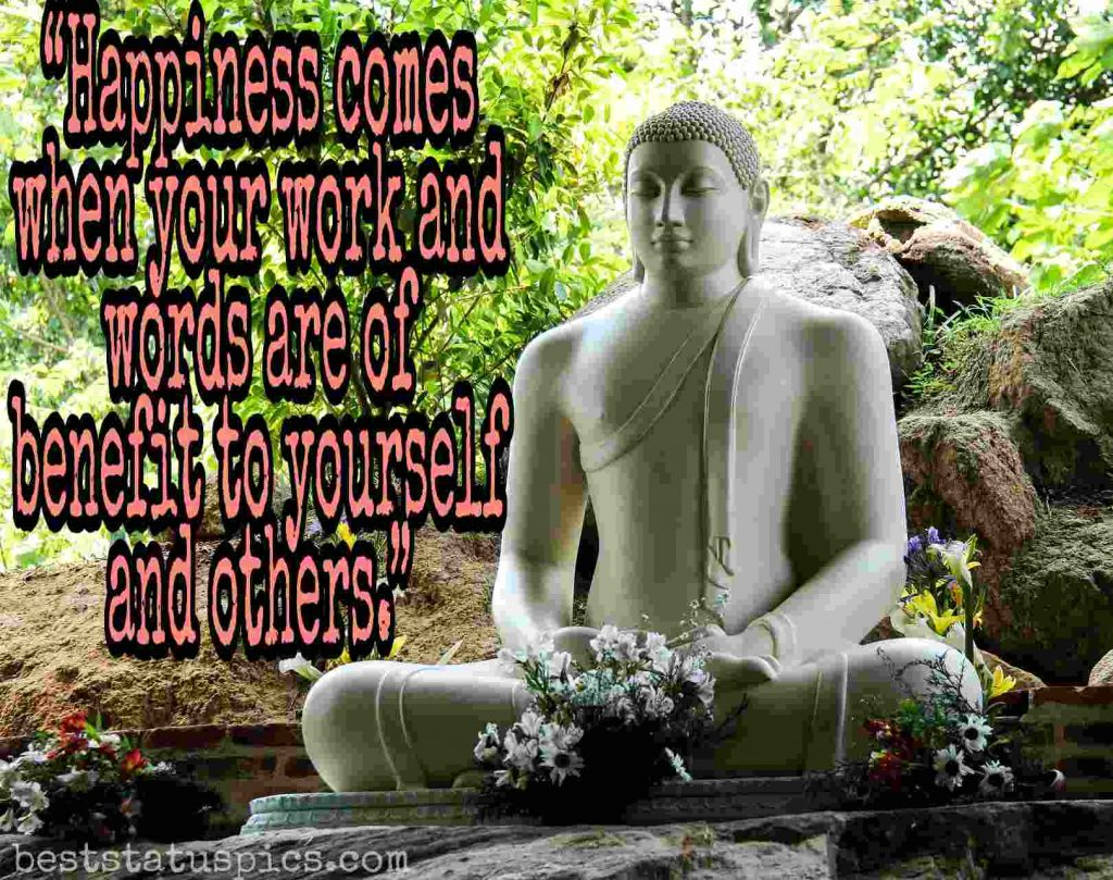 buddha quotes about happiness images