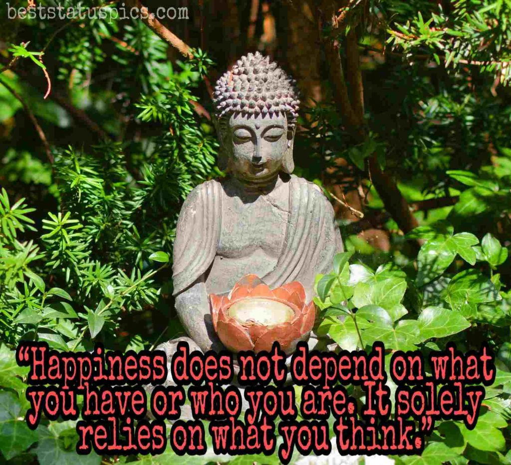 real buddha quotes happiness images
