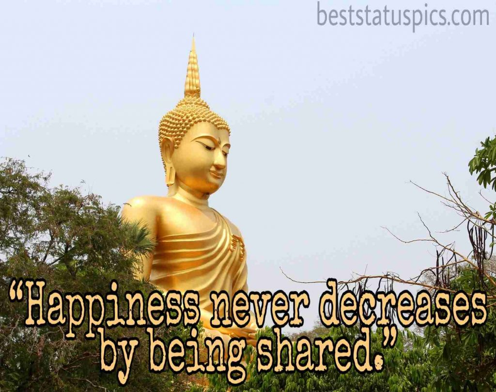 short buddha quotes on happiness images