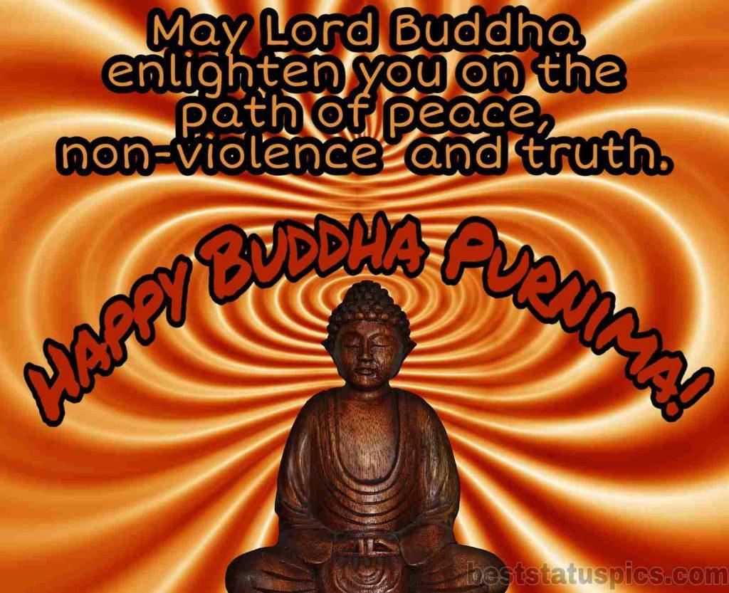 Happy buddha purnima 2020 wishes images DP HD