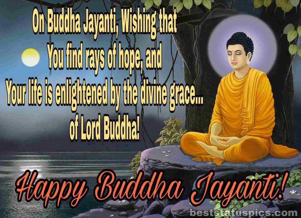 Happy buddha purnima 2020 pic quotes wishes