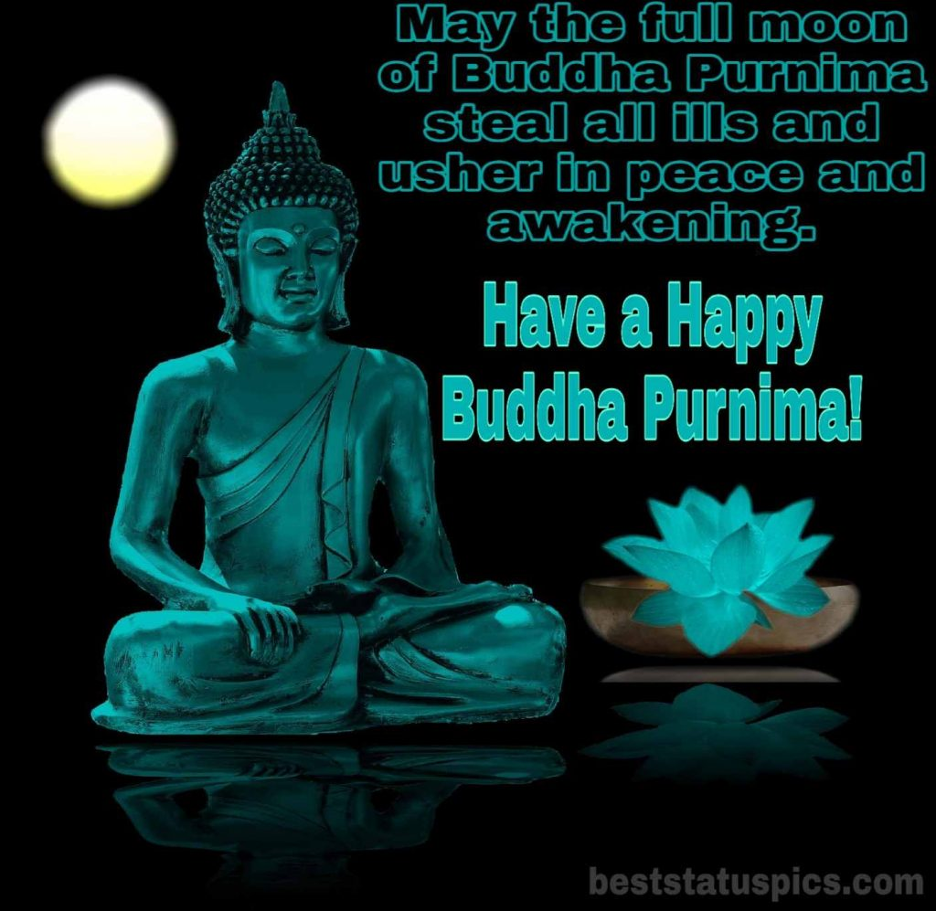 Happy buddha purnima wishes status quotes 2021