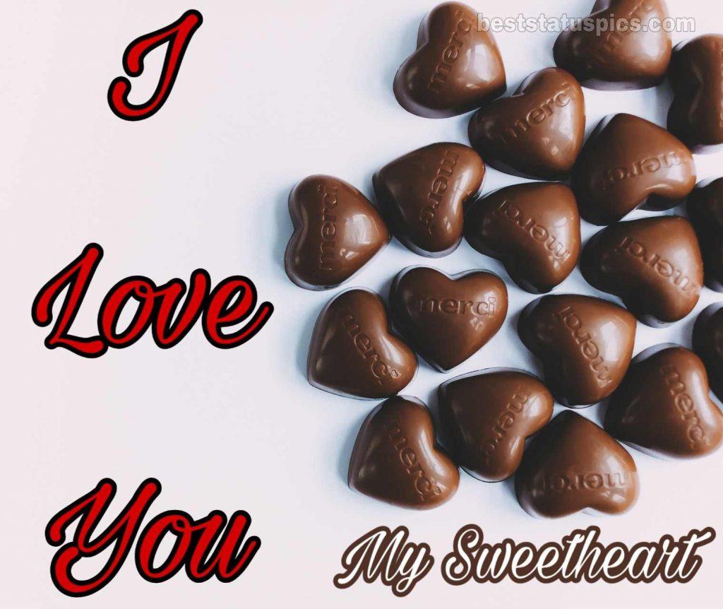 i love you my sweetheart dp pic