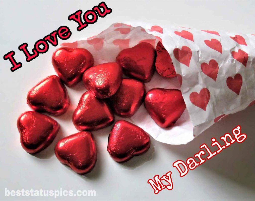 love you my darling whatsapp dp