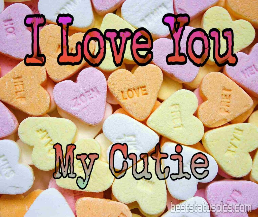 i love you my cutie dp