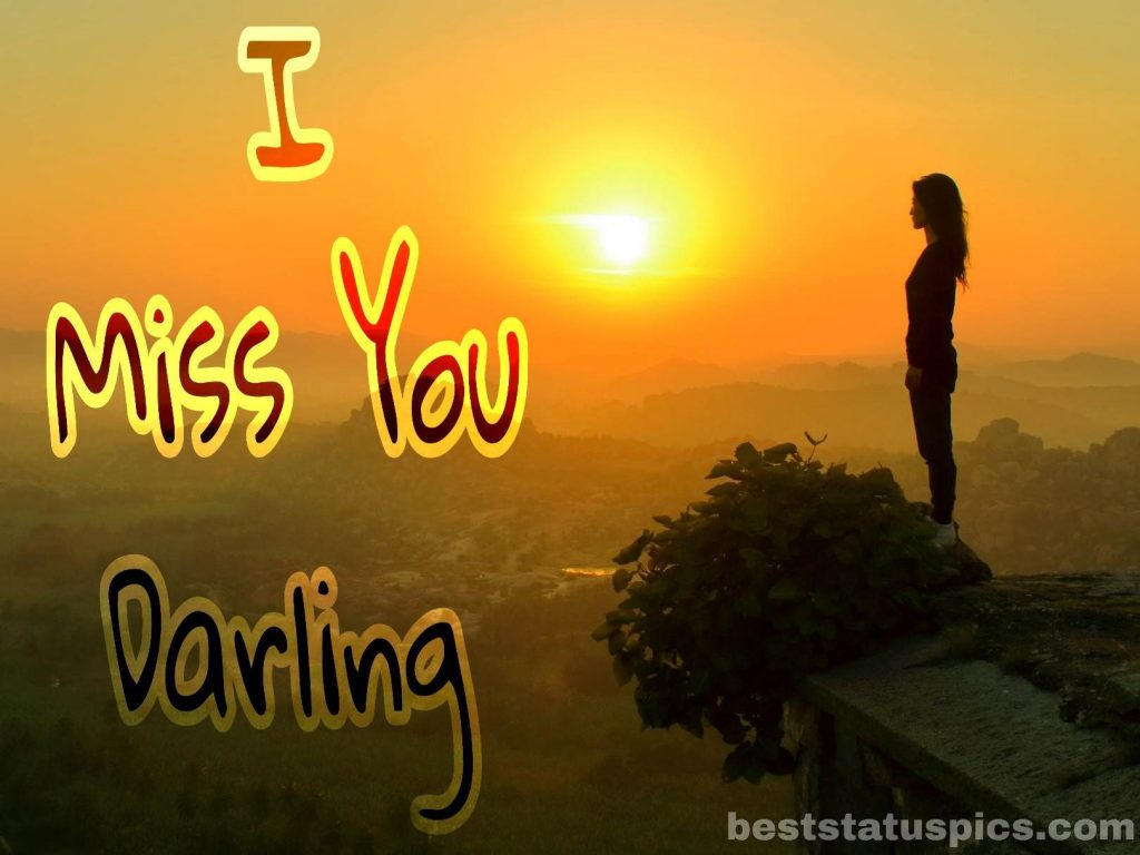 i miss you darling images hd