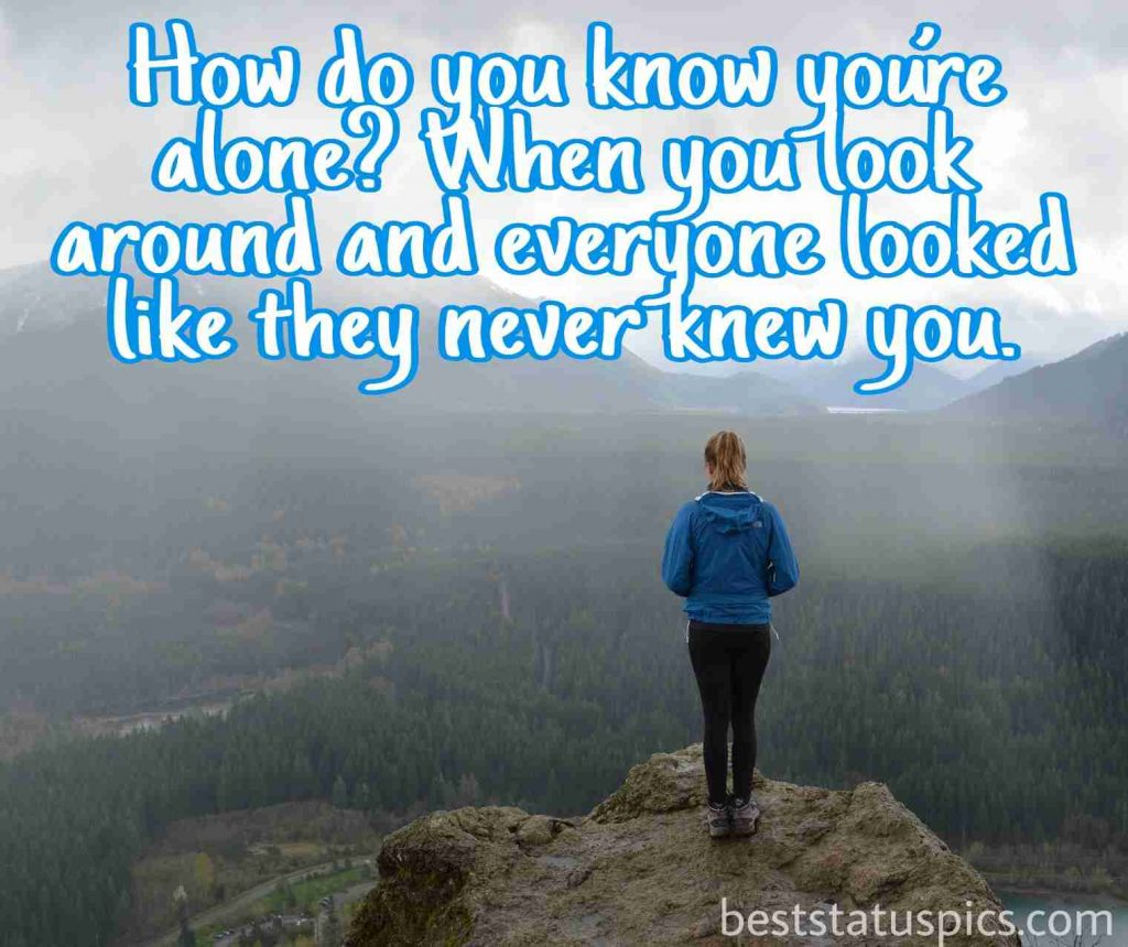 alone whatsapp dp girl quotes