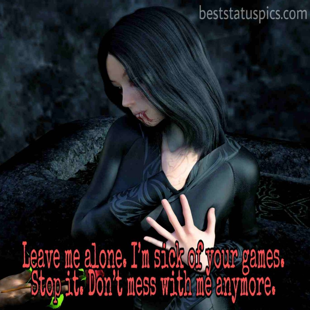 whatsapp dp quotes of alone girl
