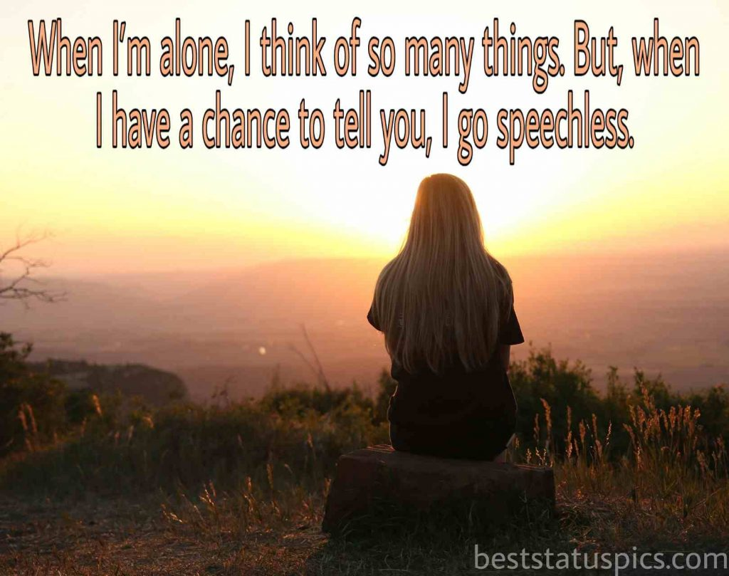 Loneliness quote for sad girls