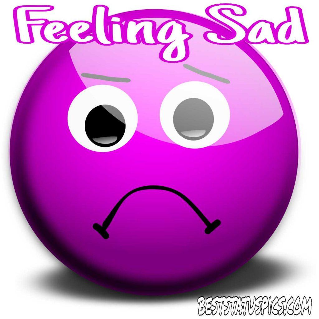 feeling very sad dp emoji with quotes