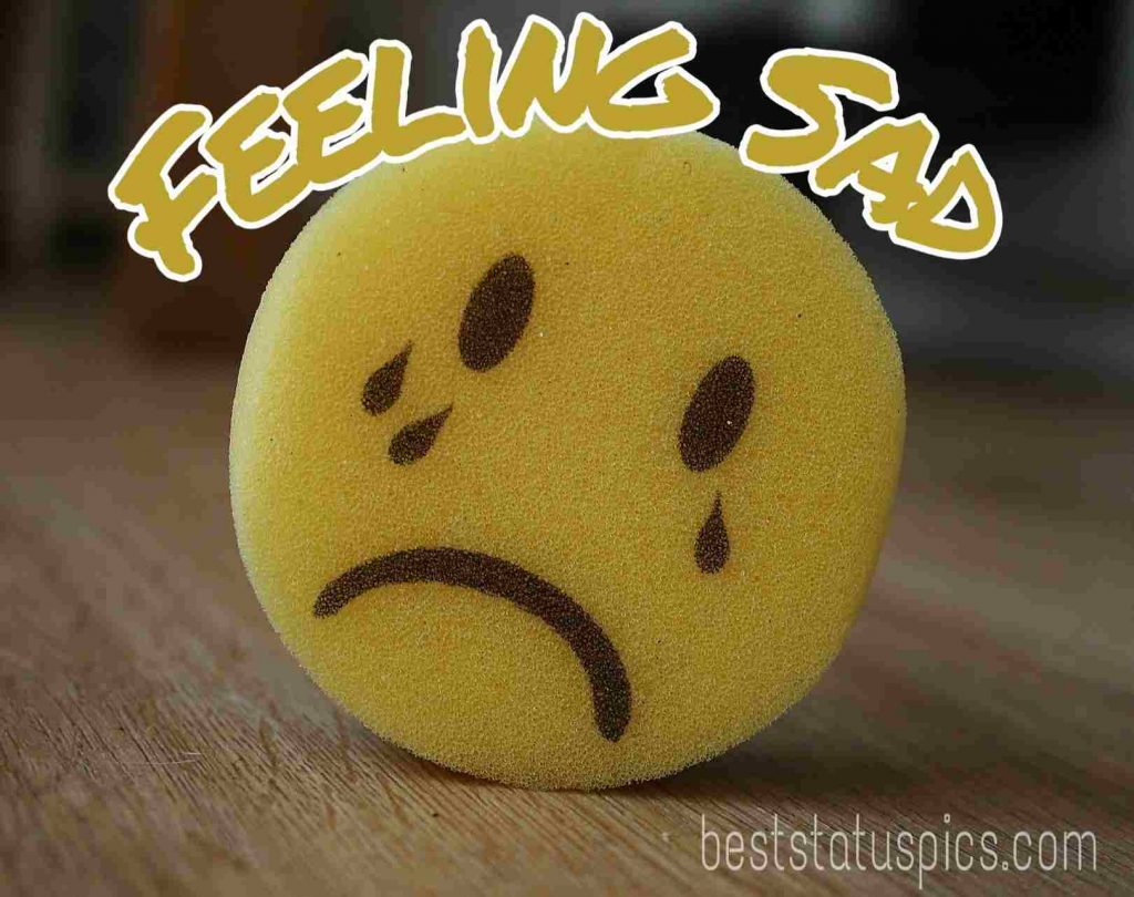 feeling sad images for whatsapp dp with crying emoji