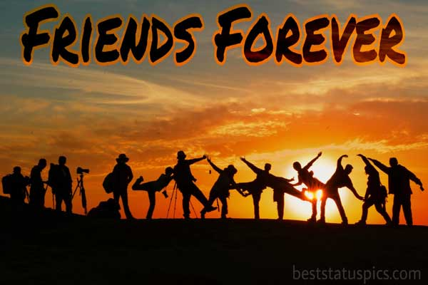 Friends forever whatsapp dp featured