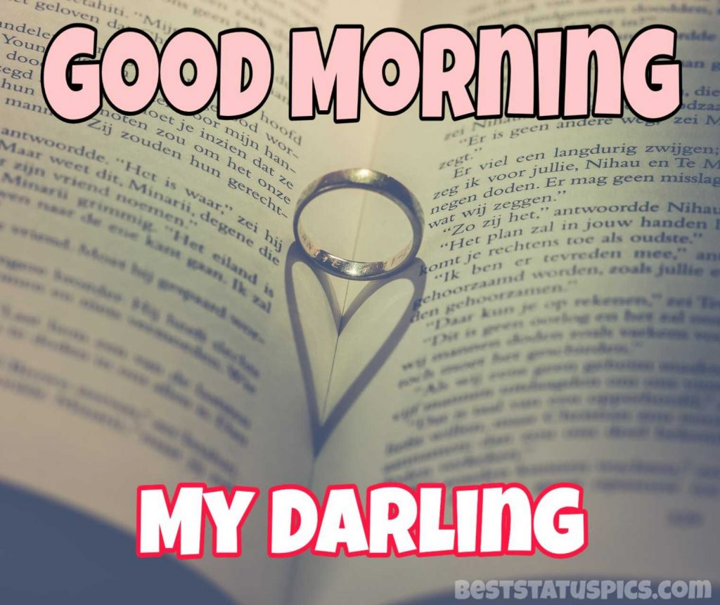 good morning my darling image for sweetheart
