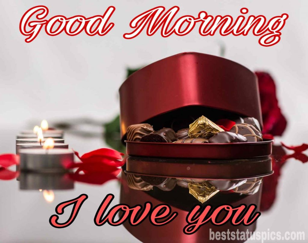 good morning i love you wish to sweetheart