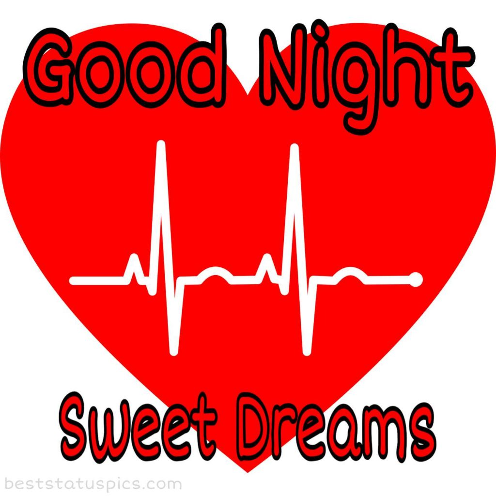 good night sweet heart images